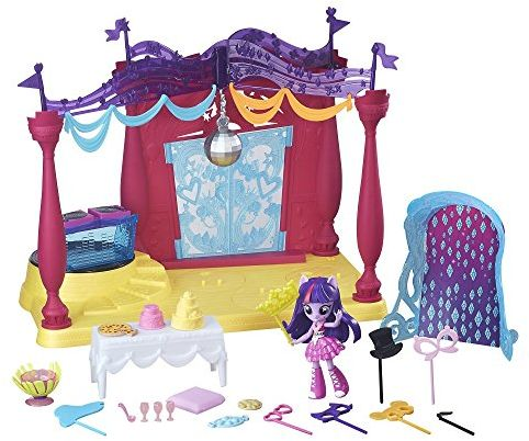 My Little Pony Equestria Girls Minis Canterlot High Dance Playset with Twilight Sparkle Doll $8.93 (reg. $29.99)