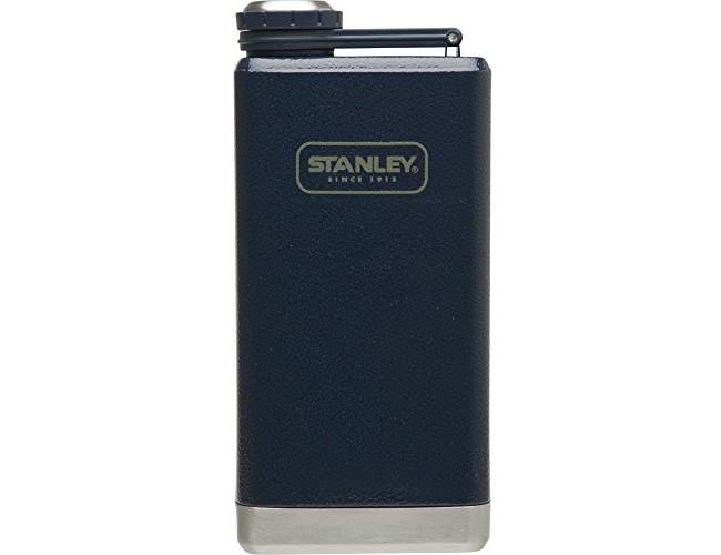 Stanley Adventure Stainless Steel Flask 8oz Hammertone Navy