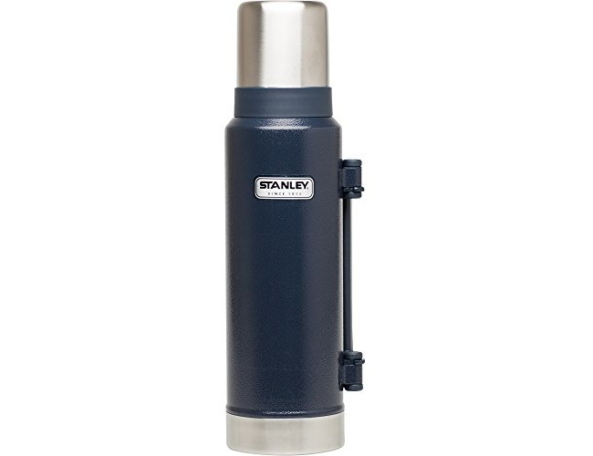 Stanley Classic Ultra Vacuum Bottle, Hammertone Navy, 1.4 Quart