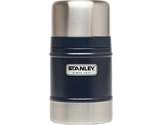 Stanley Classic Vacuum Food Jar 17oz Hammertone Navy
