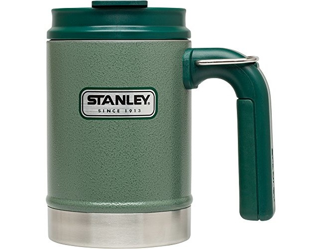 Stanley Classic Vacuum Camp Mug 16oz Hammertone Green, 16-Ounce