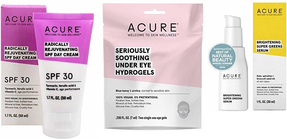 Acure Radically Rejuvenating Spf 30 Day Cream, 1.7 Ounce