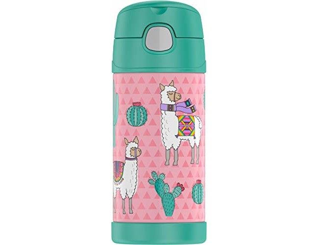 Thermos F4019LA6 Funtainer 12 Ounce Bottle, Desert Llamas