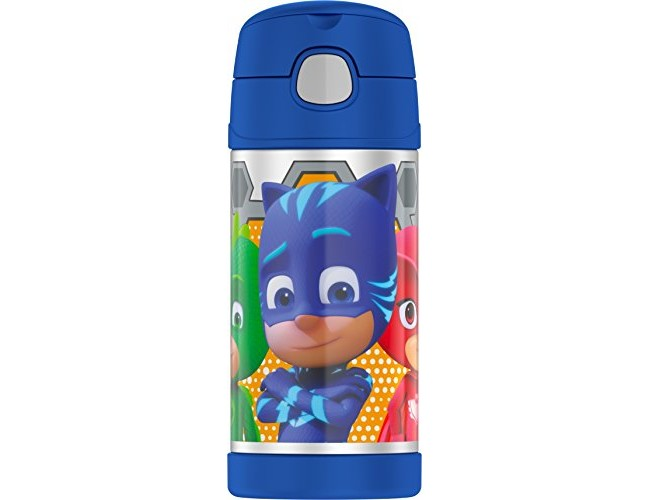 Thermos Funtainer 12 Ounce Bottle, Pj Masks