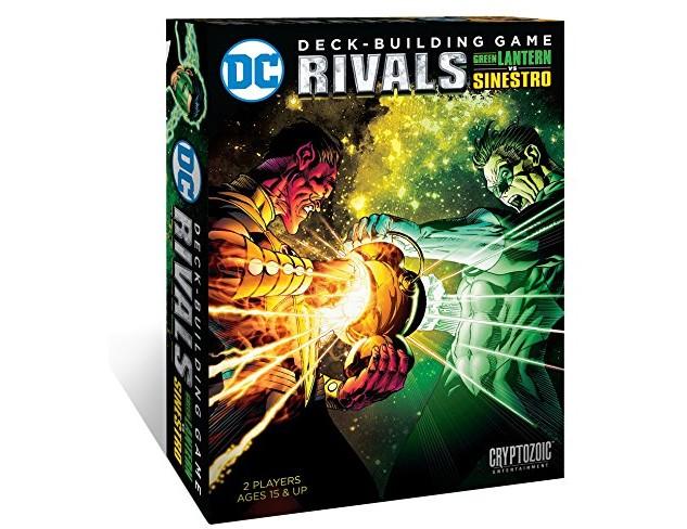Cryptozoic Entertainment DC Deck Building Game Rivals - Green Lantern vs Sinestro