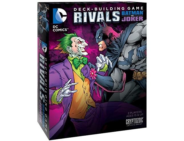Rivals Batman vs The Joker Deck Building Game