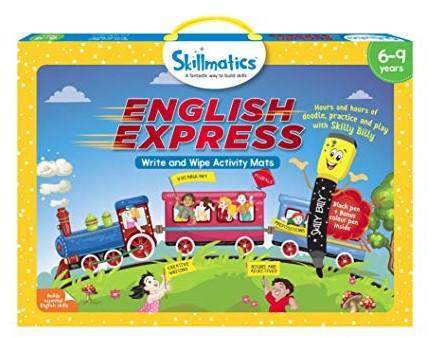 Skillmatics Educational Game: English Express (6-9 Years) | Creative Fun Activities for Kids