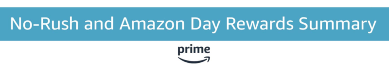 Amazon No-Rush Shipping Credits