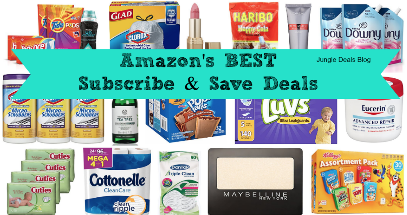 Amazon BEST Subscribe & Save Deals