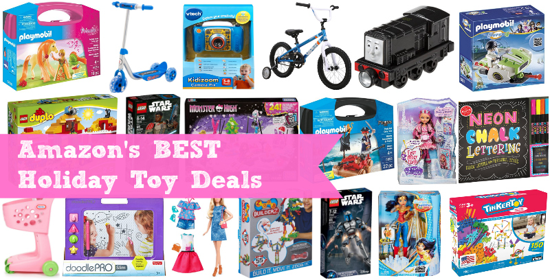 Amazon BEST Holiday Toy Deals