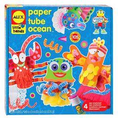 ALEX Toys Little Hands Paper Tube Ocean JungleDealsBlog.com