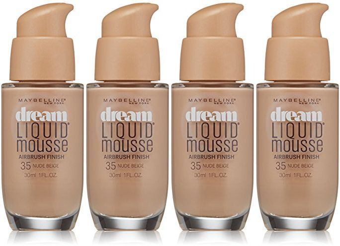Maybelline New York Dream Liquid Mousse Foundation, 35
