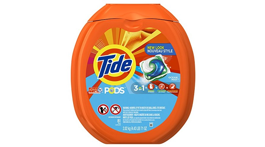 Use Coupon 5 00 Off One Tide Pods Laundry Detergent Ocean Mist 81 Count Designed For Regular And He Washers Expires