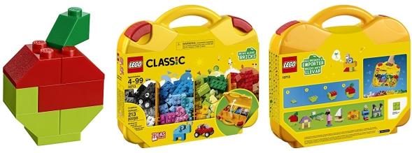 LEGO Classic Creative Suitcase Building Kit 10713, 213 Pieces