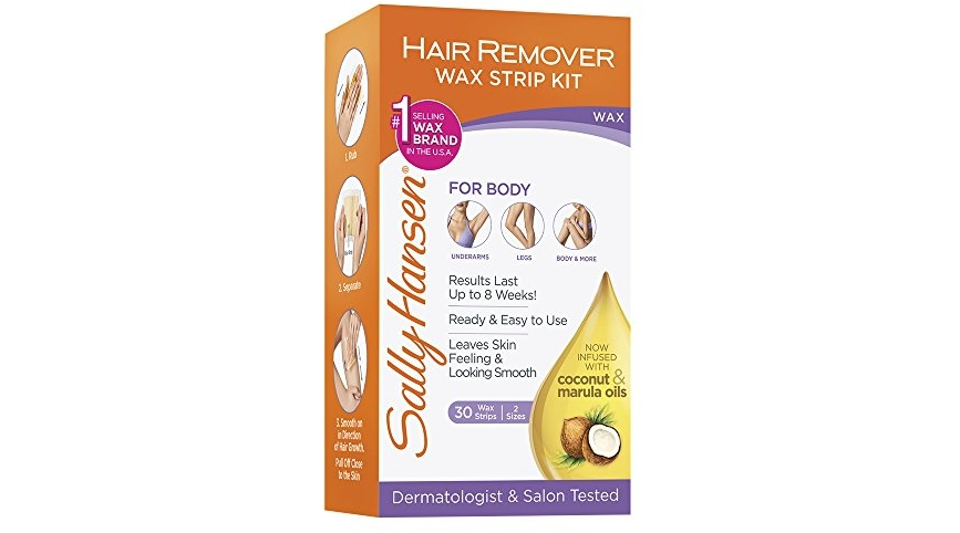 sally hansen quick and easy hair remover kit large wax