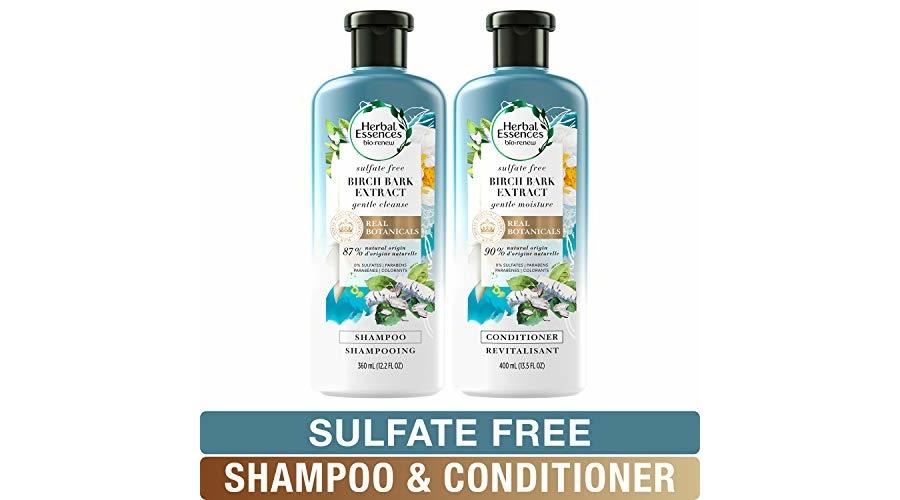 Hot Herbal Essences Sulfate Free Shampoo And Conditioner Kit Biorenew Birch Bark Extract 13 5 12 2 Fl Oz Kit Jungle Deals Blog