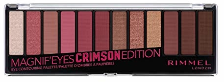 Rimmel Magnif'eyes Eyeshadow Palette, Crimson Edition