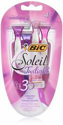 BIC Soleil Twilight Women's Disposable Razor,  4-Count