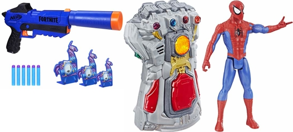 Amazon Cyber Monday: Save up to 50% on Nerf, Marvel action figures, and more