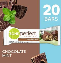 ZonePerfect Protein Bars, Chocolate Mint, High Protein, With Vitamins & Minerals (20 Count)