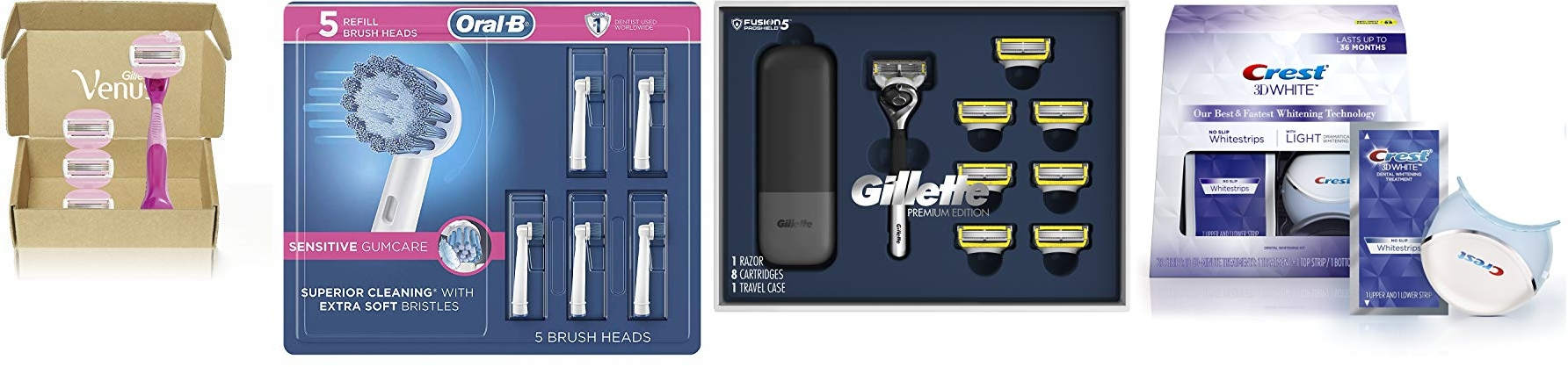 Deal of the Day: Save up to 35% on Oral B, Crest and Gillette!