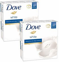 Dove Beauty Bar, White, 4 Ounce, 20 Bar