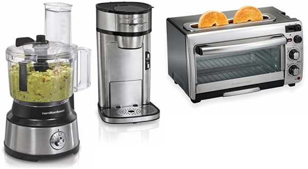 Deal of the Day: Save up to 30% on Hamilton Beach Food Processor, Toaster Oven and Coffee Maker