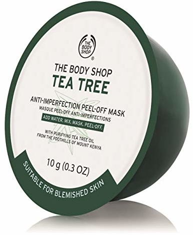 The Body Shop Tea Tree Skin Clearing Peel-Off Mask With Purifying Tea Tree Oil
