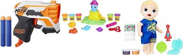 Deal of the Day: Save up to 40% on Nerf, Play-Doh, and Hasbro Games!