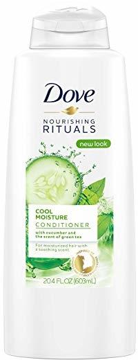 Dove Nourishing Rituals Conditioner, Cool Moisture 20.4 oz (pack of 2)