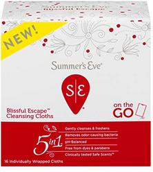 Summer's Eve Summer's Eve Blissful Escape Personal Cloths - 16ea, 16 Count