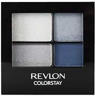 Revlon ColorStay 16 Hour Eye Shadow Quad, Passionate, 0.16oz