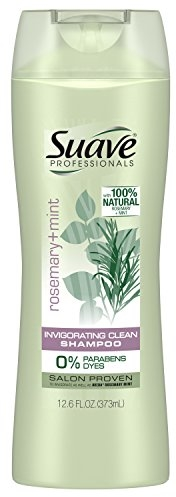 Suave Professionals Shampoo, Rosemary + Mint, 12.6 oz (Pack of 6)