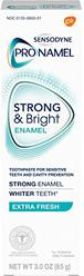 Sensodyne Pronamel Strong And Bright Enamel Toothpaste for Sensitive Teeth, Extra Fresh - 3 Ounces