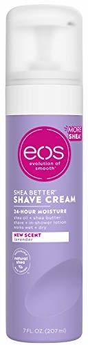 eos Ultra Moisturizing Shave Cream - Lavender Jasmine, Provides 24-Hours of Skin-Softening Moisture, Shave Wet or Dry, 7 Fl oz