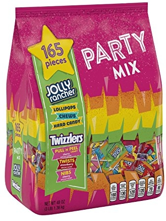 HERSHEY'S Candy Variety Mix, JOLLY RANCHER & TWIZZLERS
