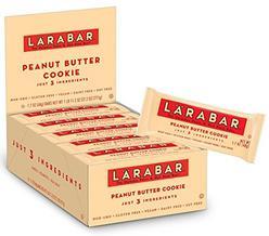 Larabar Gluten Free Bar, Peanut Butter Cookie, 1.7 oz Bars (16 Count), Whole Food Gluten Free Bars, Dairy Free Snacks