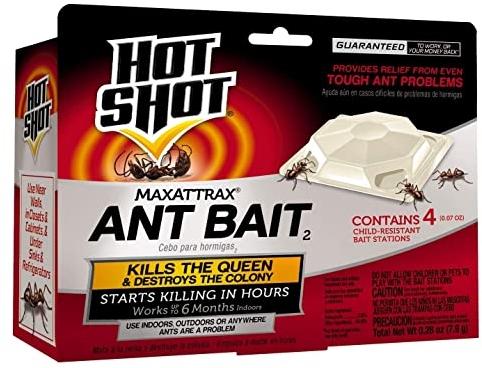 Hot Shot MaxAttrax Ant Bait, 4-Count