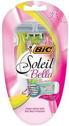 BIC Soleil Bella Sun-Twist Scented Women's 4 Blade Disposable Razor, 3-Count