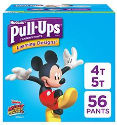 Pull-Ups Learning Designs Potty Training Pants for Boys, 4T-5T (38-50 lb.), 56 Ct. (Packaging May Vary)