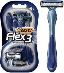 BIC Flex 3 Men's Triple Blade Disposable Razor, 4-Count