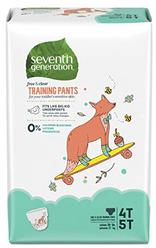 Seventh Generation Baby & Toddler Training Pants, XLarge Size 4T-5T, 68 count (Packaging May Vary)