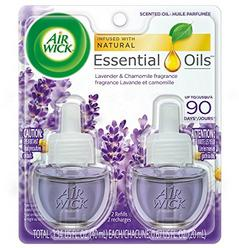Air Wick, Plug In Scented Oil 2 Refills, Lavender & Chamomile, 1.34 oz