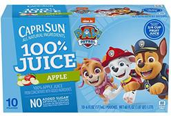 Capri Sun 100% Apple Juice Ready-to-Drink Juice (10 Pouches)