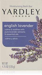 Yardley London English Lavender with Essential Oils Soap Bar, 4.25 oz Bar