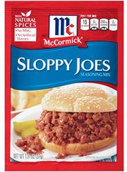 McCormick Sloppy Joes Seasoning Mix, 1.31 oz