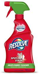 Resolve 22 fl oz Multi-Fabric Cleaner and Upholstery Stain Remover
