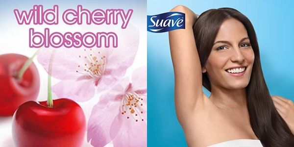 Purchase Suave Antiperspirant Deodorant, Wild Cherry Blossom 2.6 oz, Twin Pack on Amazon.com