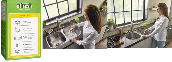 Purchase Affresh Garbage Disposal Cleaner, Removes Odor Causing Residues, U.S. EPA Safer Choice Certified, 3 Tablets on Amazon.com