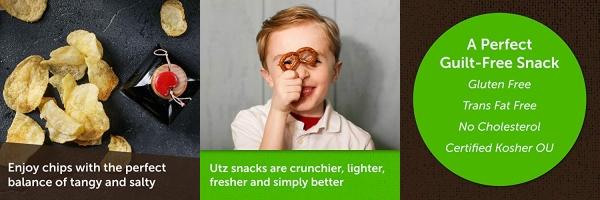 Purchase Utz Potato Chips, Salt & Vinegar 1 oz. Bags (60 Count) Crispy Potato Chips Made from Fresh Potatoes, Crunchy Individual Snacks to Go, Cholesterol Free, Trans-Fat Free, Gluten Free Snacks on Amazon.com